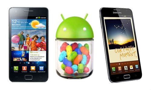 Samsung Galaxy S2, Galaxy Note Jelly Bean Upgrade Delayed to January