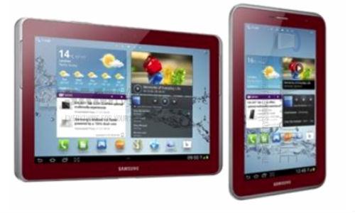 Galaxy Tab 2 7.0, Galaxy Tab 2 10.1 & Galaxy Note 800 to Come in Red