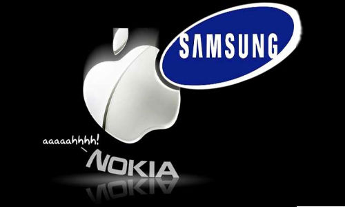 Samsung Ranked Top Mobile Phone Vendor in Shipments: Pushes Nokia