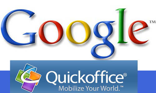Google Launches Free QuickOffice App on iPad
