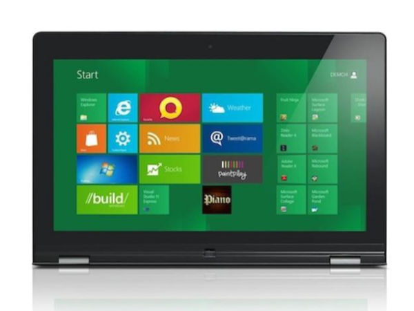 Lenovo IdeaPad Yoga 11 and IdeaPad Yoga 13 Launch