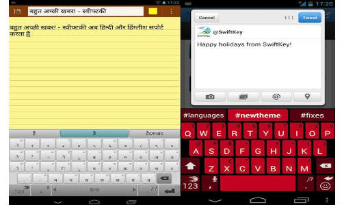 SwiftKey Keyboard Gets Version 3.1 Update: Adds Hindi, Hinglish