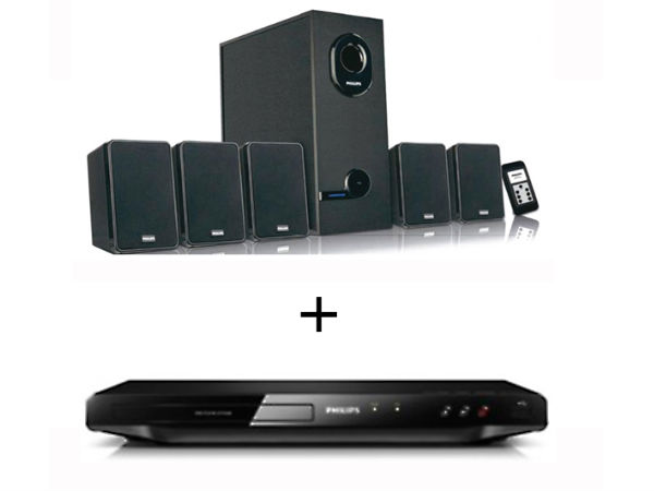 Philips Home Theatre Combo - DVD + Speaker System