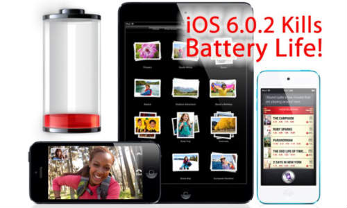 Apple iOS 6.0.2: iPhone 5, iPad mini Users Complaining Big Battery