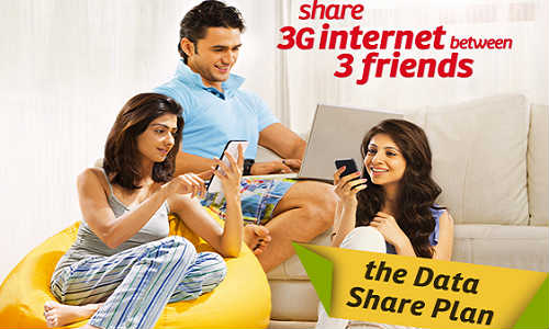 Airtel New Data Sharing Plan Introduced: Offers 3G Data Sharing