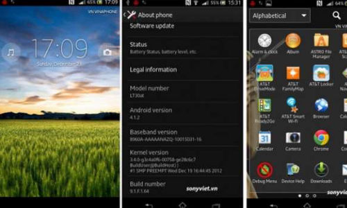 Android 4.1.2 Jelly Bean: Sony Xperia T Owners Receiving Update