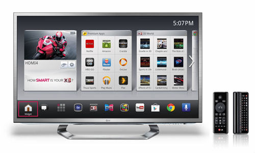 LG to Unveil Google TV Line up at CES 2013 featuring Magic Remote