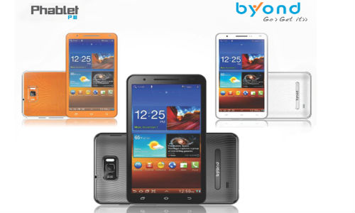 Byond Phablet PIII: 6 inch Display Smartphone/Tablet launch In India