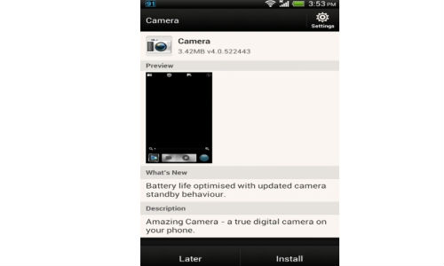 HTC One X Getting Better Battery Life and Camera Standby Option
