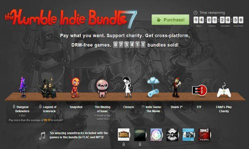 Humble Indie Bundle 7 for Linux Now Available with 3 More Games