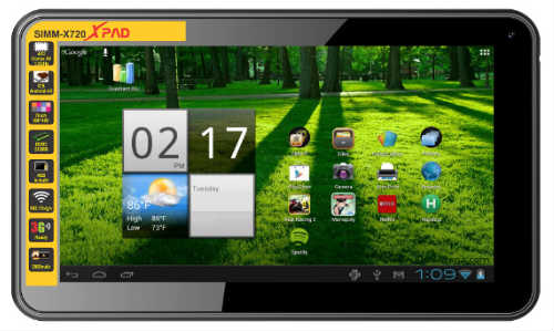 XPAD X-720: Simmtronics First Tablet Hits the Nation at Rs 4,600
