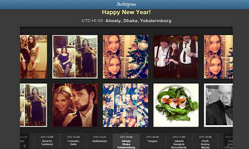 Instagram brings all New Year photos in one photo stream