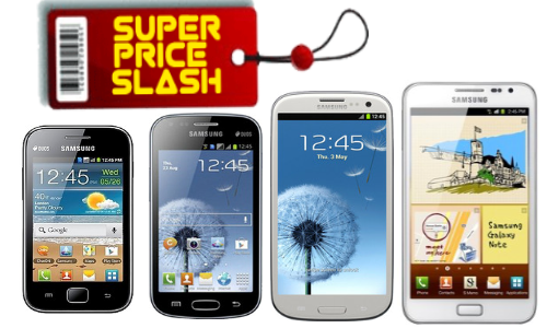 Samsung's New Year Gift: Galaxy S3, S Duos, Ace Duos  Note Price Cut