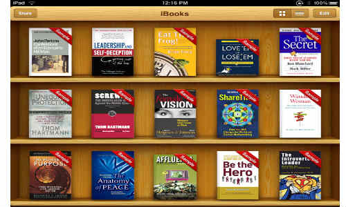 Apple iBookstore to hit Japanese Market in January 2013