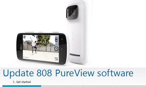 Nokia 808 PureView Getting Maintenance Update