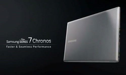 Samsung teases Series 7 Chronos notebook With AMD Radeon & HD Display