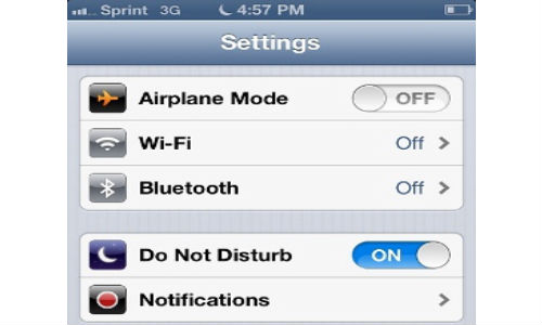 Apple: iOS 6 Do Not Disturb Bug, will Automatically Fix on January 7