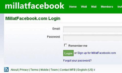 MillatFacebook: Pakistan Social Network