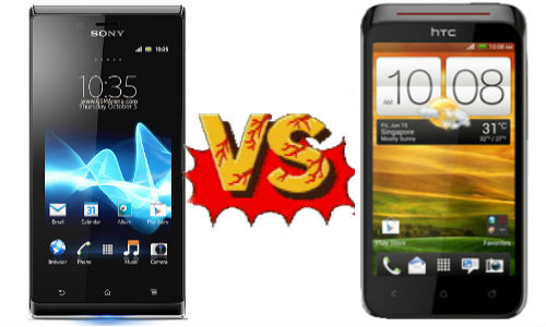 Sony Xperia J vs HTC Desire VC: Combat Of Android ICS Smartphones