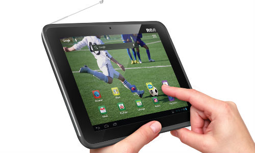 RCA Announces Mobile TV Tablet to Experience Digital Television