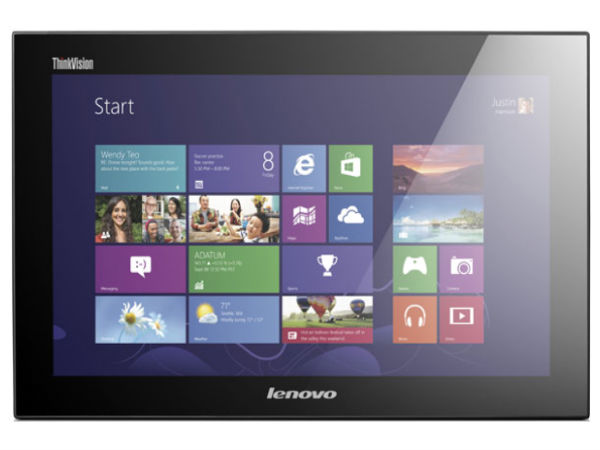 Lenovo ThinkVision LT1423p Mobile Monitor Touch