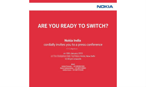 Lumia 920, 820 Coming to India this Thursday, Nokia Sends out Invite