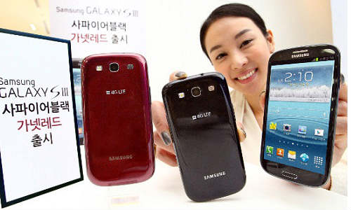 Samsung Galaxy S3: Red and Black Variants Out Now in Korea