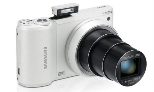 Samsung Unveils New Smart Cameras at CES 2013: WB250F/WB200F, WB800F