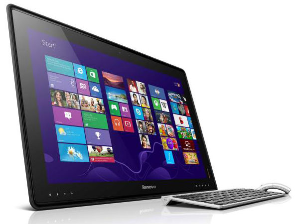Lenovo's 27-inch IdeaCentre Horizon Table PC: