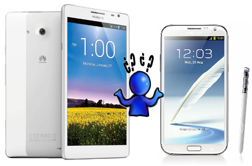 Huawei Ascend Mate vs Samsung Galaxy Note 2: The Phablet War of 2013