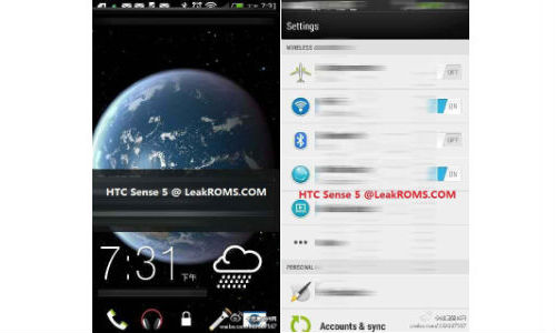 Alleged HTC M7 Screenshots Leak Hinting at New & Simple Sensse 5.0