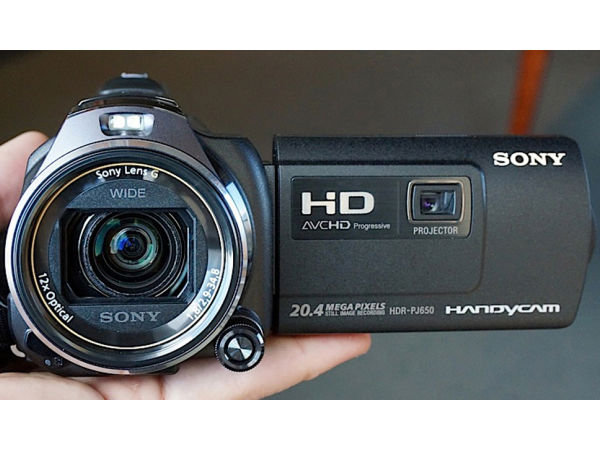 Handycam Range from Sony