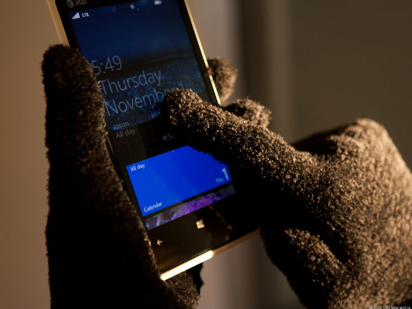 Glove-Friendly Touchscreen Display