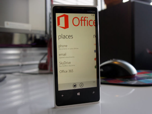 Windows Phone 8 With Microsoft Office