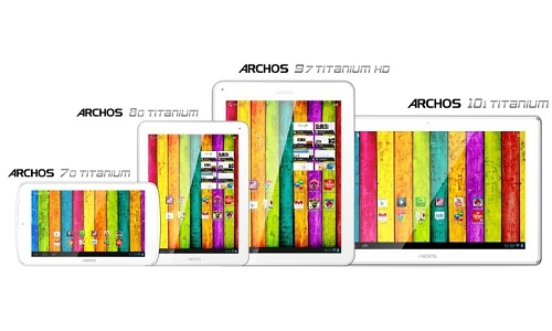 CES 2013: Archos Titanium Tablet Lineup Unleashed
