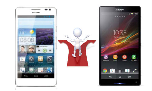 Huawei Ascend D2 vs Sony Xperia Z: 1080p Handset Display Fight Beings