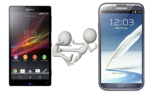 Samsung Galaxy Note 2 vs Sony Xperia ZL: Who Will Be the Phablet Lord?