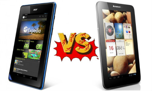 Acer Iconia B1-A71 vs Lenovo IdeaTab A2107: Which One Will You Buy?