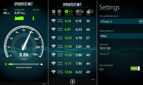 Speedtest.net App for Windows Phone 8 Now Available