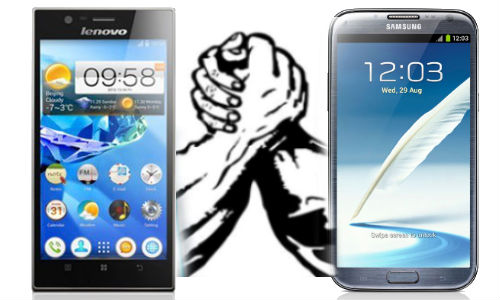 Galaxy Note 2 vs IdeaPhone K900: Lenovo and Samsung Phablets Collide