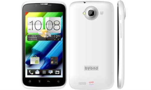 B63: Byond 4.5 inch Dual SIM Android 4.1 Smartphone at Price Rs 9,999