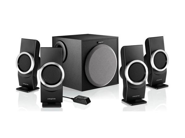 Creative Inspire M4500 4.1 Multimedia Speakers:
