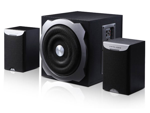 F&D 2.1 Speakers with 6.5 inch Sub Woofer for Deep Bass: