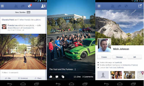 Facebook Android App Updated with Voice Messaging Feature