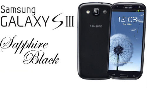 Samsung Galaxy S3: Sapphire Black Variant smartphone Hits Canada