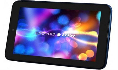 MSI Enjoy 71: Affordable Android 4.0 Dual Core Tablet Launched