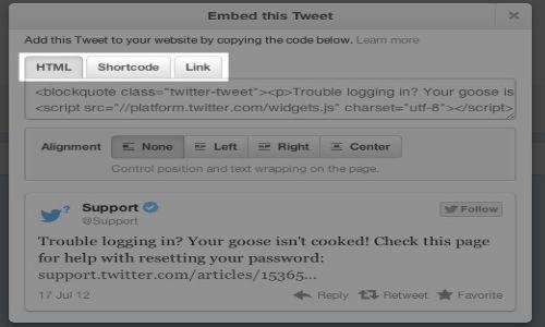 Twitter Tweaks Embedded Tweets: How To Embed a Tweet on your Website ?