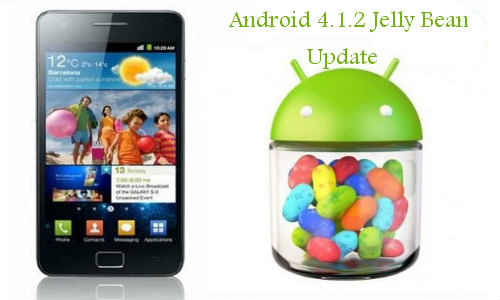 Android 4.1.2 Jelly Bean: Samsung Galaxy S2 Receiving the Update