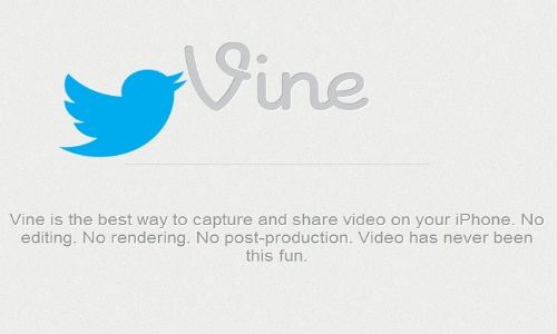 Twitter to Launch Standalone Video Sharing Vine App Soon:
