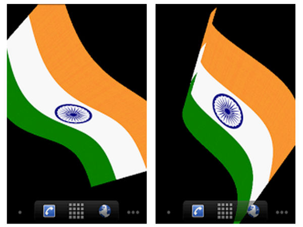 Indian Flag Live Wallpaper